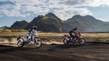 Honda Africa Twin e Africa Twin Adventure Sports 2022