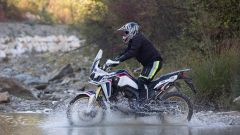 Honda Africa Twin in offroad