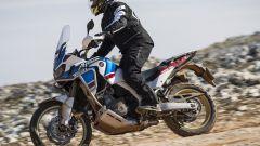 Honda Africa Twin: comunicherà con vetture e pedoni grazie al VTX - Immagine: 2