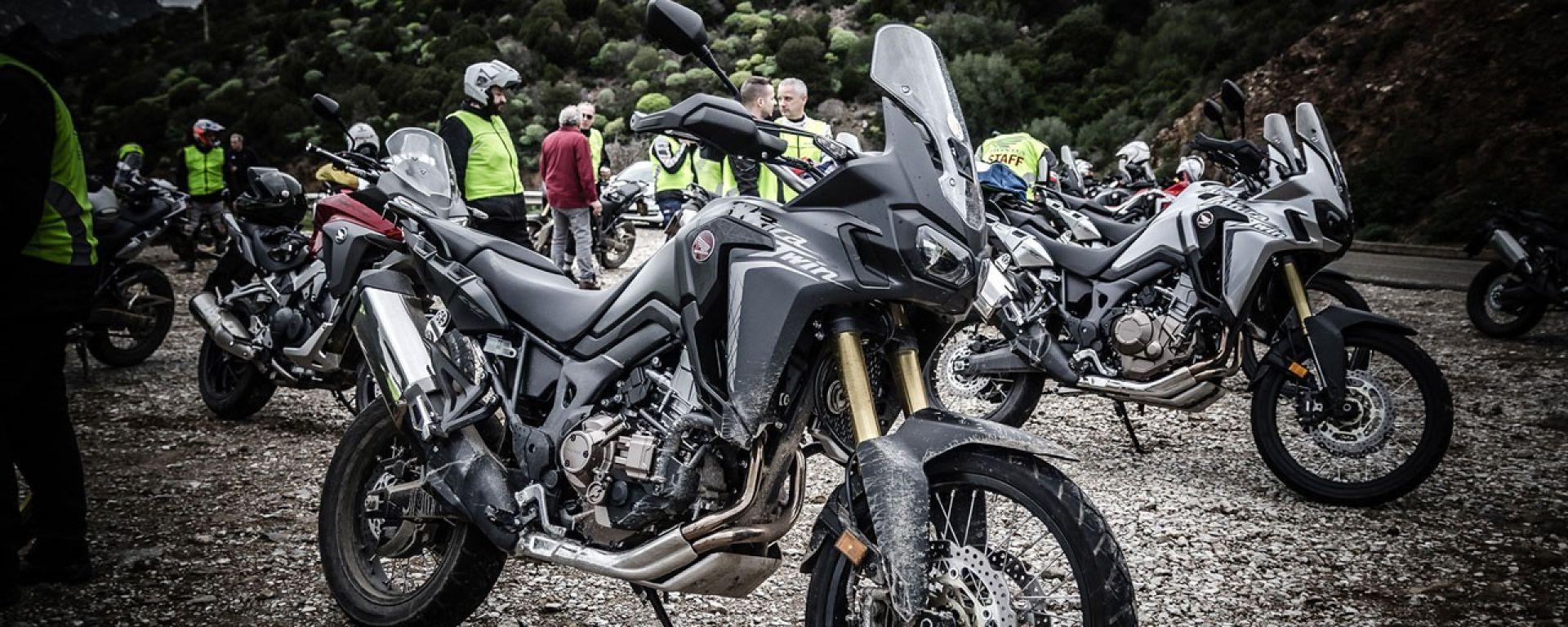 Honda Africa Twin True Adventure Sardegna 2016