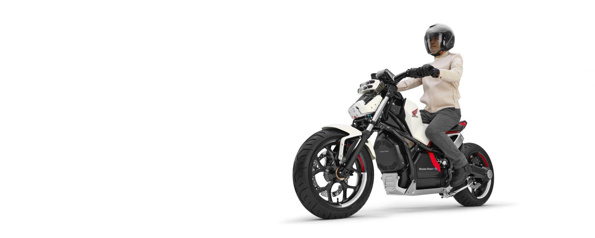 Honda riding Assist-e: il futuro del motociclismo?