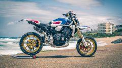 Honda CB1000R: le foto delle special viste a Wheels&Waves 2019