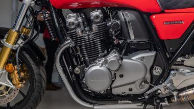 Honda CB 1100 RS 5Four: il motore è rimasto originale