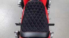 Honda CB 1100 RS 5Four: la sella in pelle e alcantara