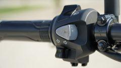Honda CB 125R: il blocchetto elettrico sinistro