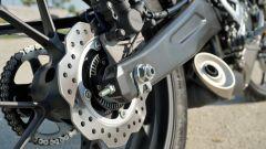 Honda CB 125R il forcellone