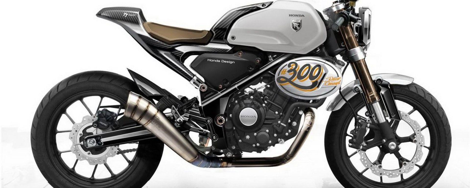 Honda CB300 TT Racer Concept