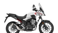 Honda CB 500 X bianca