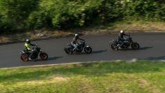Honda CB 650 R, Yamaha MT-07, Husqvarna Vitpilen 701 a confronto - Immagine: 2