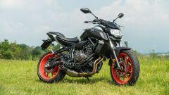 Honda CB 650 R, Yamaha MT-07, Husqvarna Vitpilen 701 a confronto - Immagine: 12