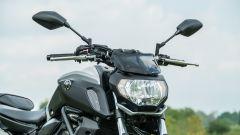 Honda CB 650 R, Yamaha MT-07, Husqvarna Vitpilen 701 a confronto - Immagine: 28