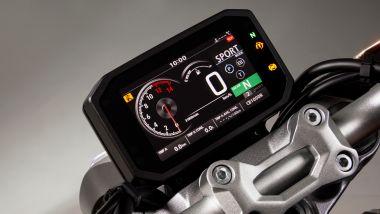 Honda CB1000R 2021: il nuovo display TFT da 5''