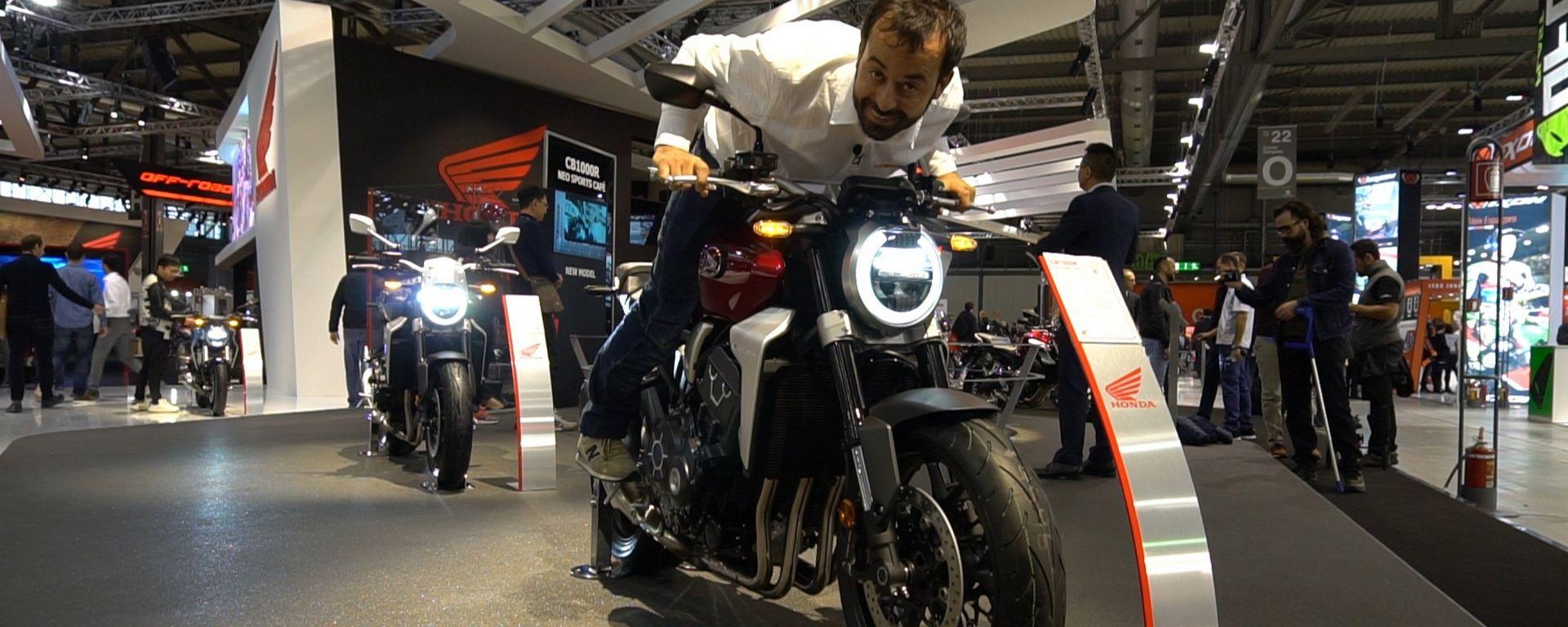Honda CB1000R: a EICMA la Supernaked dallo stile rétro [VIDEO]