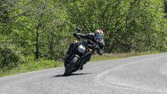 Honda CB1000R Black Edition 2021: l'avantreno è leggero e rende la naked divertente