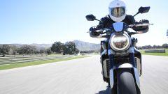 Honda CB1000R: vista frontale