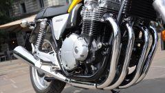 Honda CB1100 EX: dettaglio degli scarichi