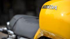 Honda CB1100 EX: dettaglio del serbatoio