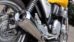 Honda CB1100 EX: dettaglio del terminale di scarico destro