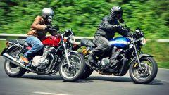Honda CB1100 EX vs Yamaha XJR 1300 2015 - Immagine: 1