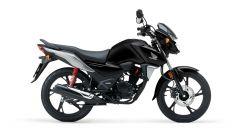 Honda CB125F 2021 nella colorazione nera
