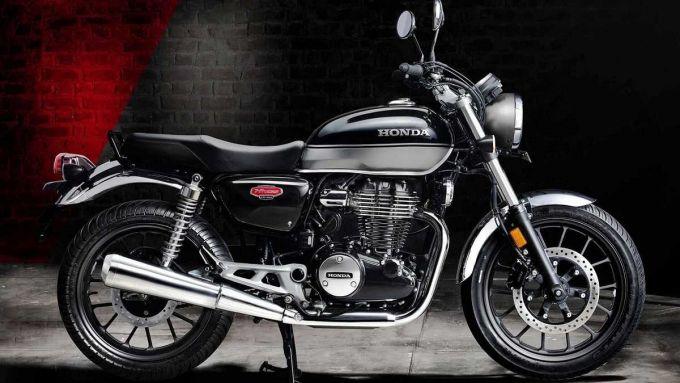 Honda CB350 H'ness, vista laterale