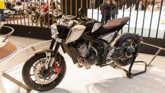 Honda CB4 Interceptor, a EICMA 2017 una concept futuristica [VIDEO] - Immagine: 27