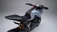 Honda CB4 X: visuale dall'alto posteriore