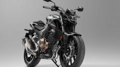 Honda CB500F 2019: Matt Gunpowder Black Metallic