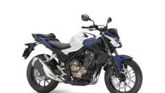 Honda CB500F 2019: Pearl Metalloid White