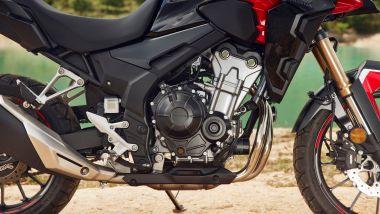 Honda CB500F, CB500X e CBR500R 2022: nuove mappe motore e radiatore