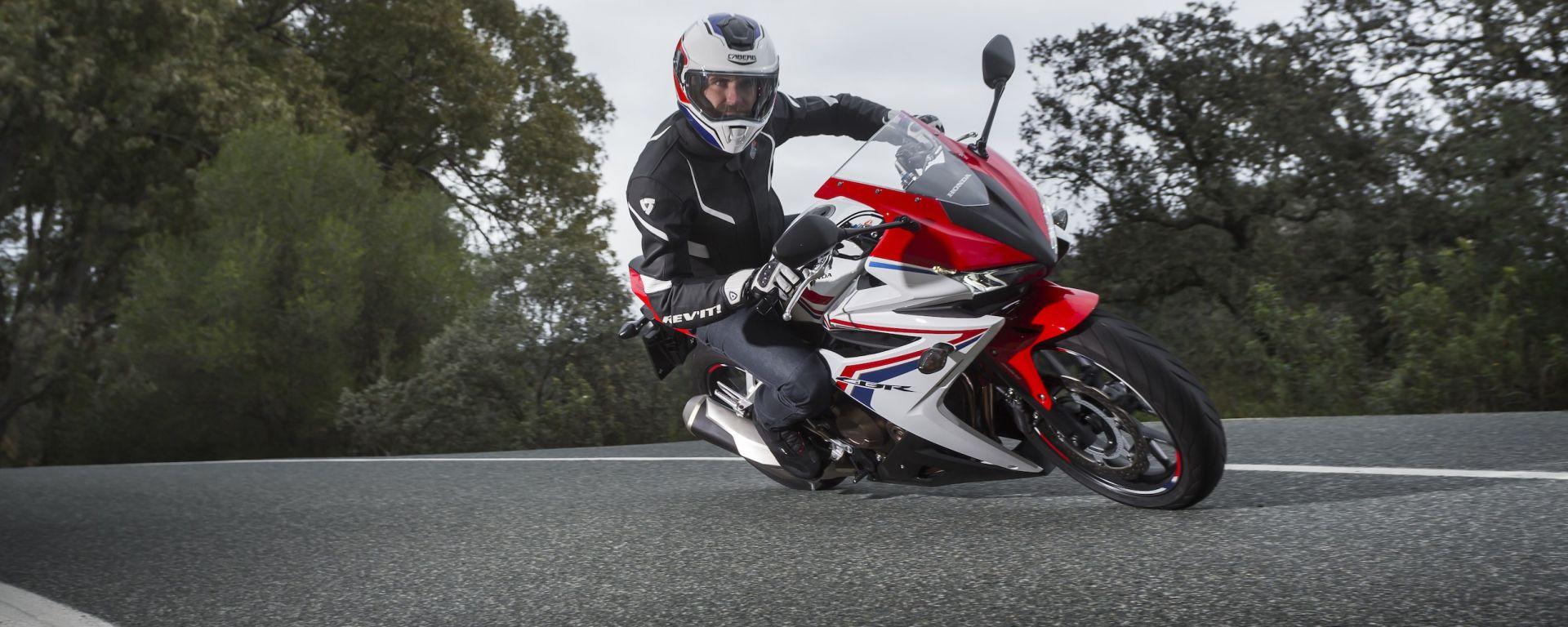 Honda CB500F e CBR500R 2016