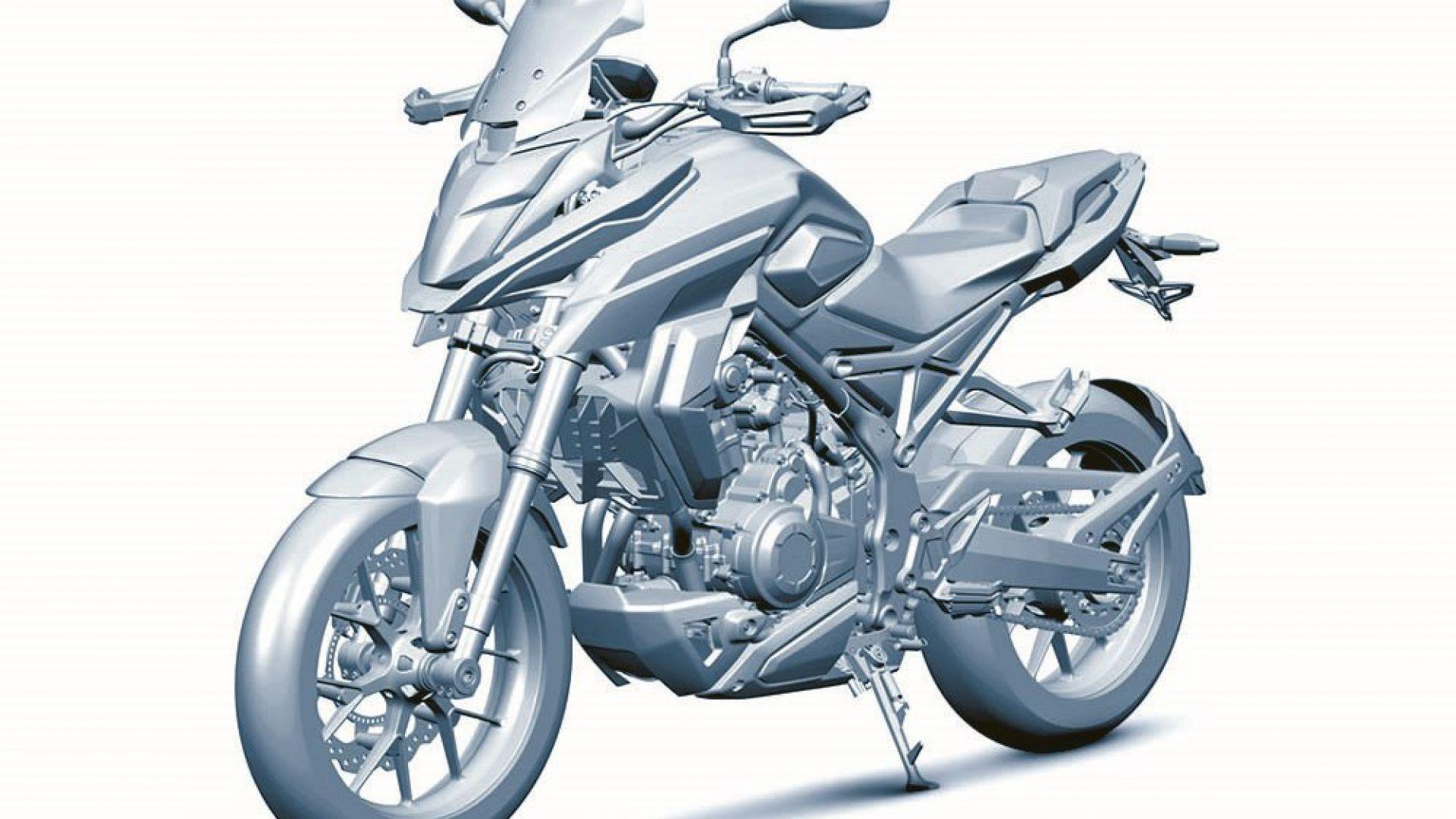 concept bike honda cb500x 2018 sar cos motorbox. Black Bedroom Furniture Sets. Home Design Ideas