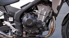 Honda CB500X 2019: dettaglio del motore