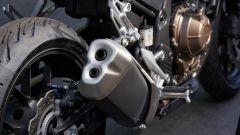 Honda CB500X 2019: il nuovo scarico