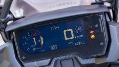 Honda CB500X 2019: la nuova strumentazione LCD