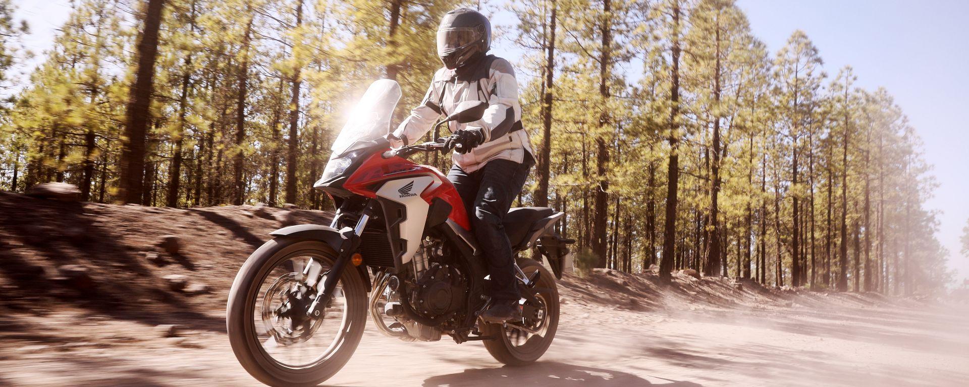 Honda CB500X 2019: la prova  su strada e in off-road