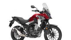 Honda CB500X 2019: nuova strumentazione LCD a retroilluminazione negativa e luci Full-LED