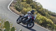 Honda CB500X 2019: promosse le Dunlop Trailmax