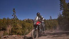 Honda CB500X 2019 sul vulcano El Teide