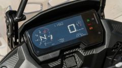 Honda CB500X 2021: il display LCD
