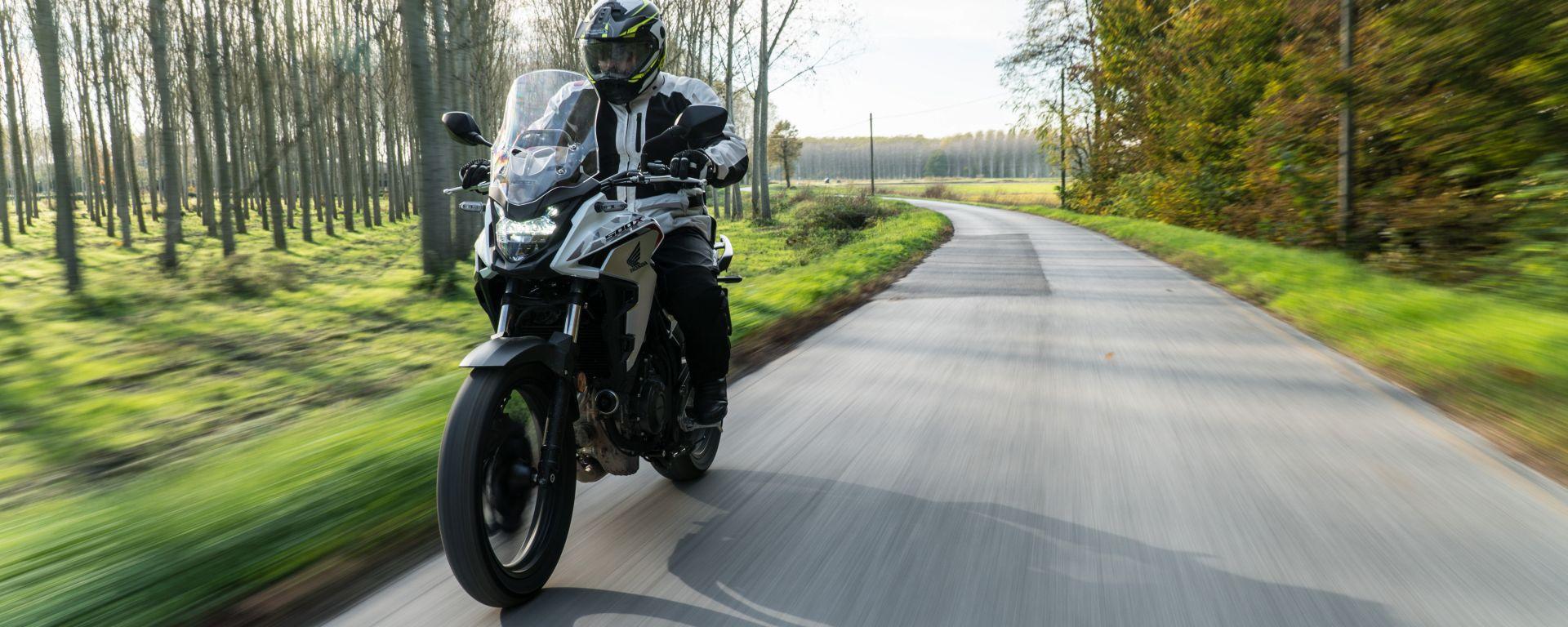 Honda CB500X 2021: la prova su strada