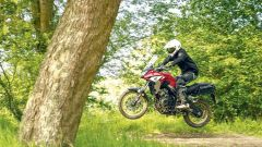 Honda CB500X: Rally Raid la modifica per il vero off-road  - Immagine: 1