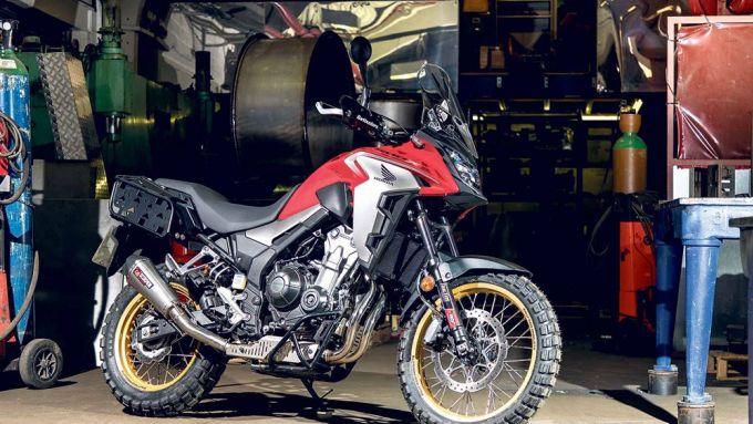 Honda CB500X 2019 rally raid
