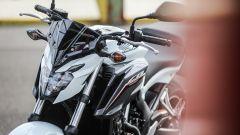 Honda CB650F: dettaglio del frontale