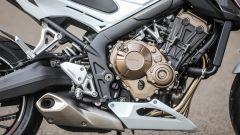 Honda CB650F: il motore