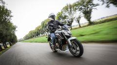 Honda CB650F: la prova su strada