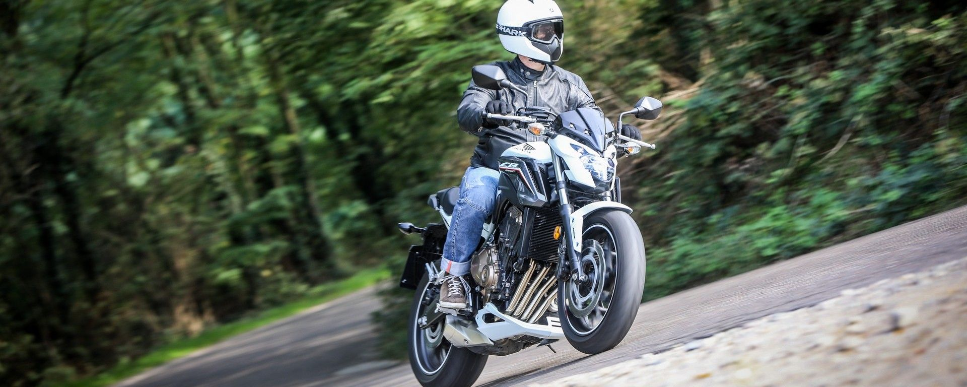 Honda CB650F: nel misto