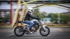Honda CB650F: vista laterale