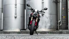 Honda CB650R 2021: il frontale
