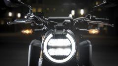 Honda CB650R: dettaglio frontale